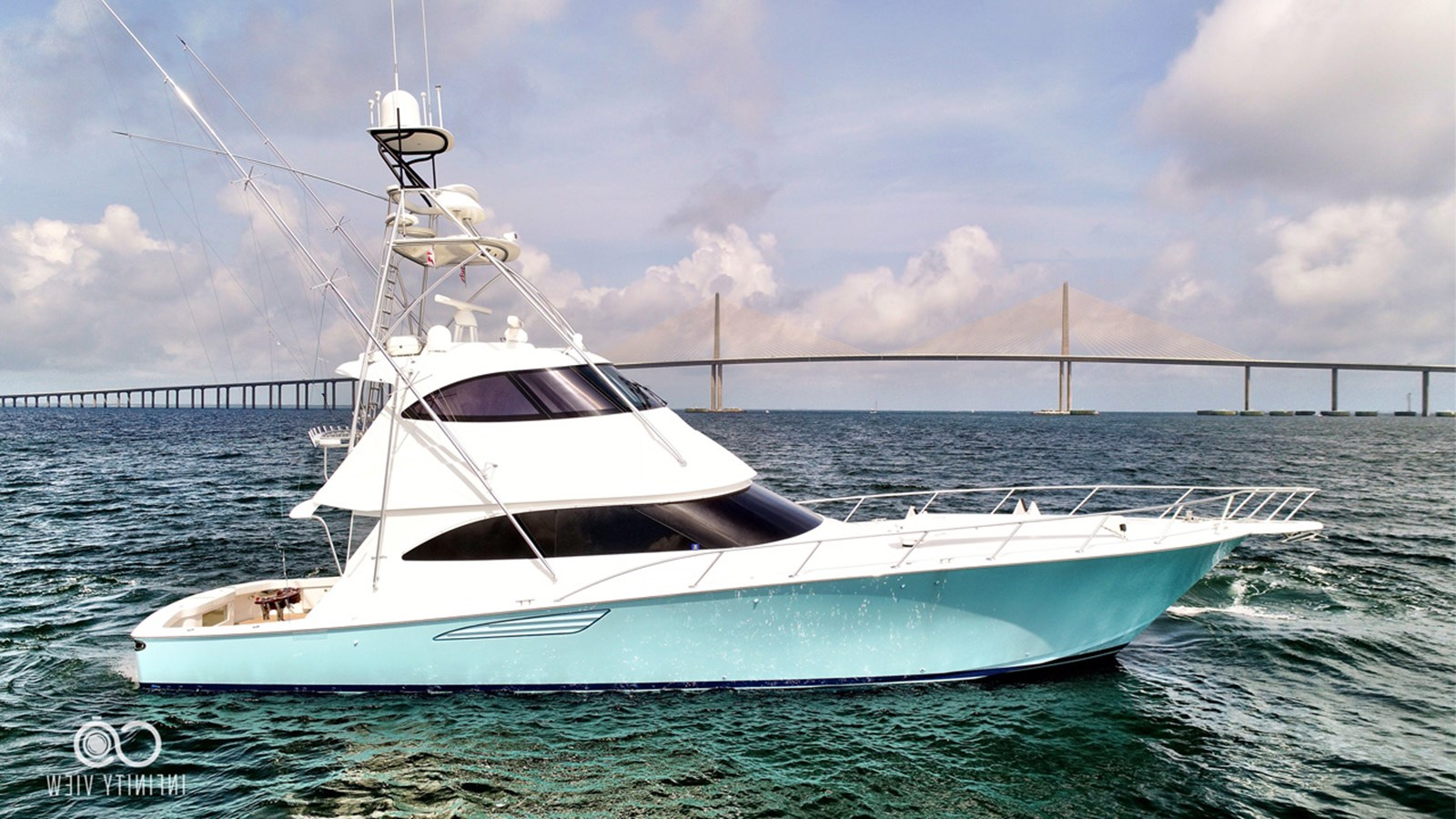 2017 VIKING 62 EB with Palm Beach Tower For Sale