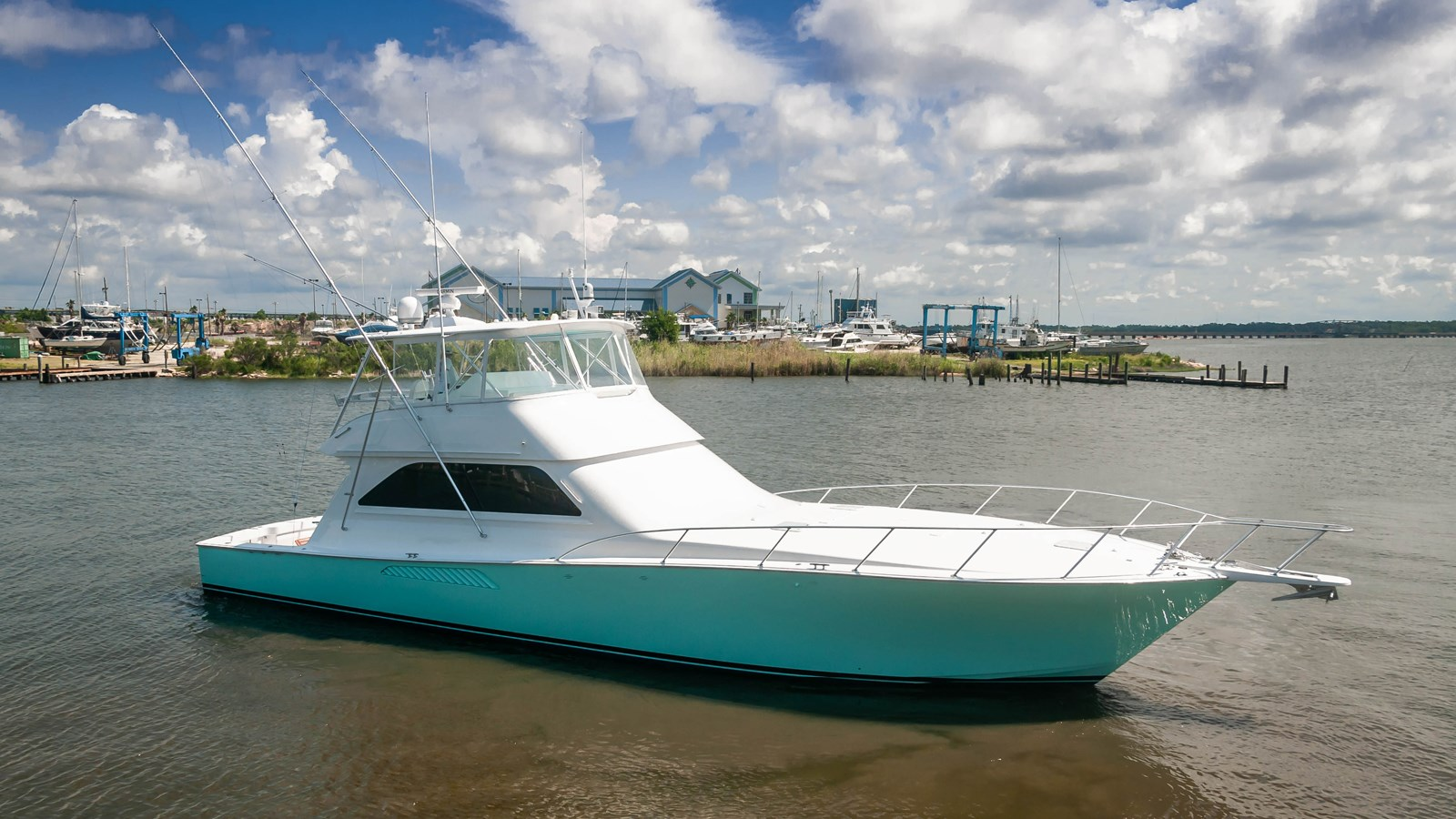 2002 VIKING 61 Convertible For Sale