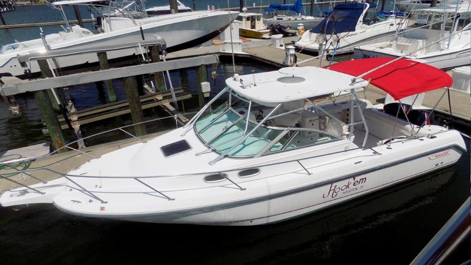 2001 BOSTON WHALER 28 Conquest For Sale