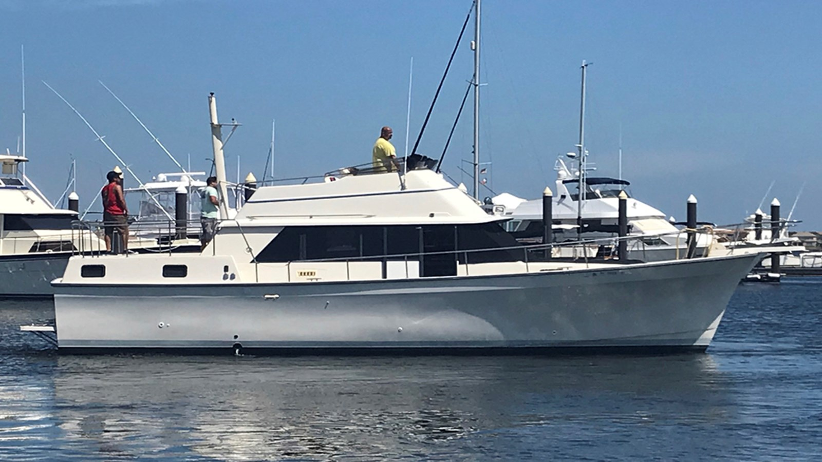1984 MAINSHIP 40 Double Cabin For Sale