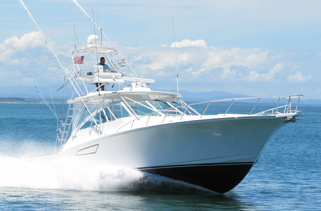 2007 CABO 45 Open For Sale