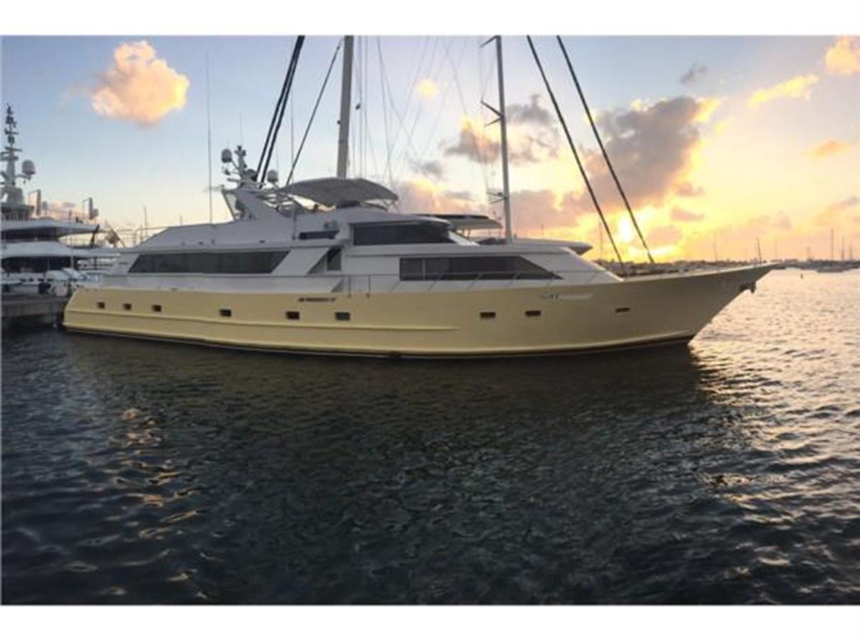1992 BROWARD Raised Pilothouse Motoryacht For Sale