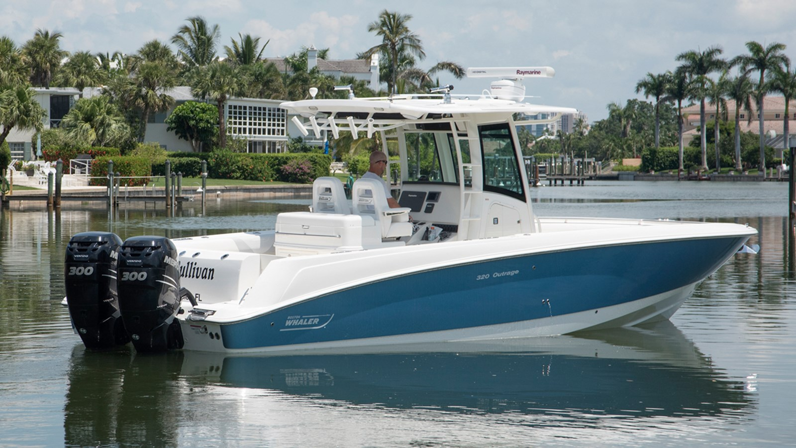 2012 BOSTON WHALER 320 Outrage For Sale
