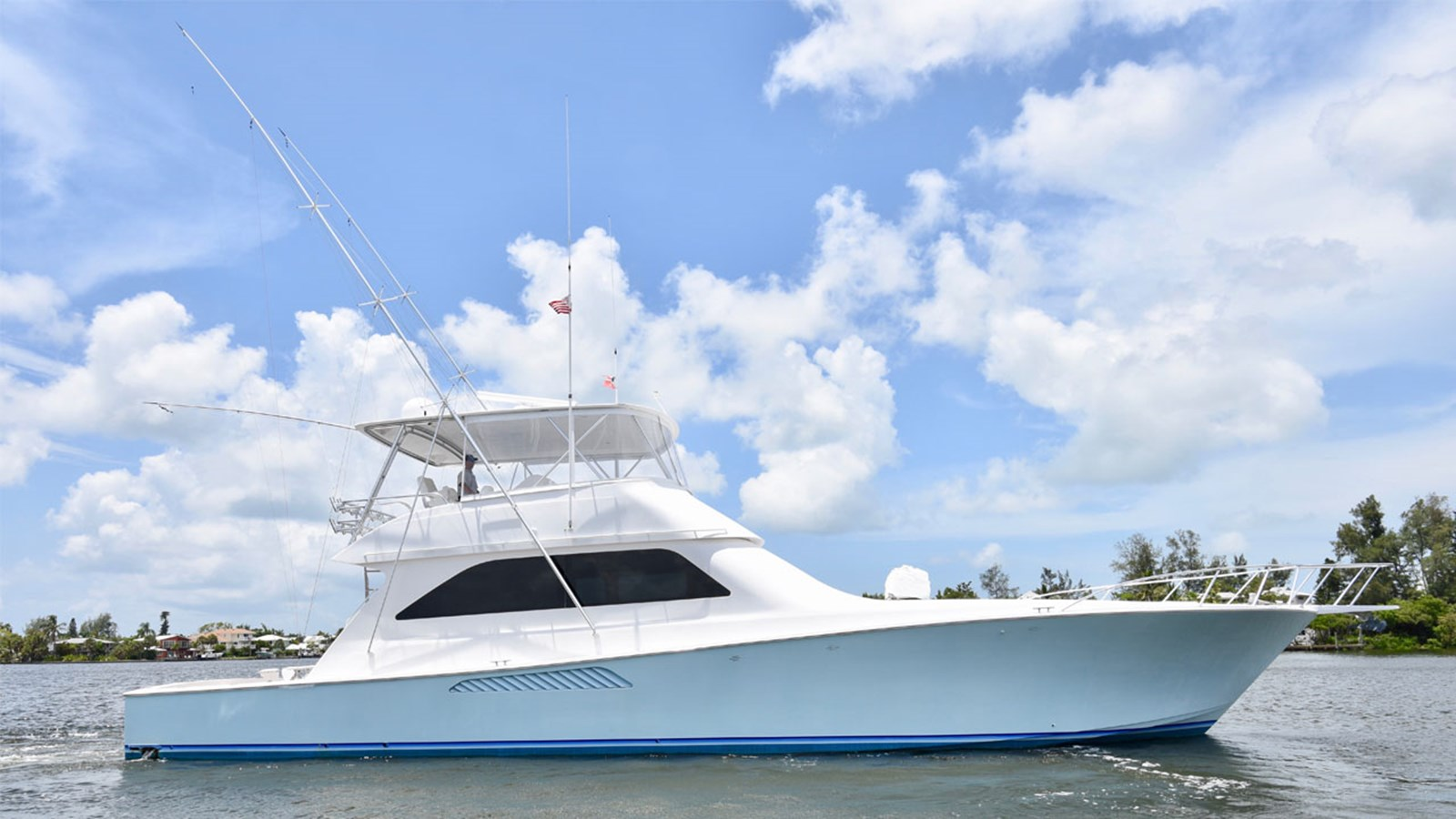 2005 VIKING 61 Convertible For Sale