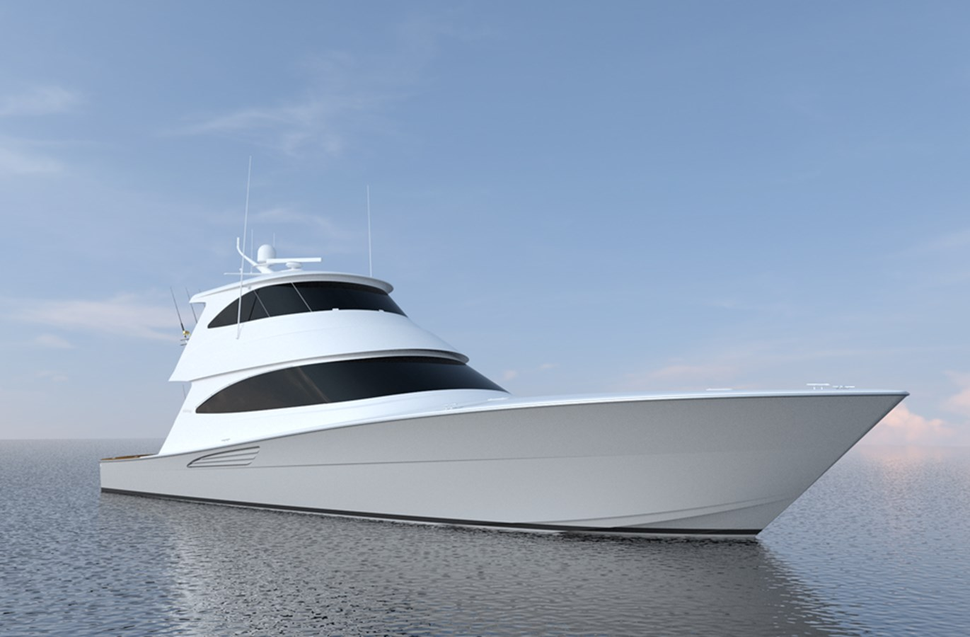 New Viking 72 Enclosed Bridge Yachts For Sale