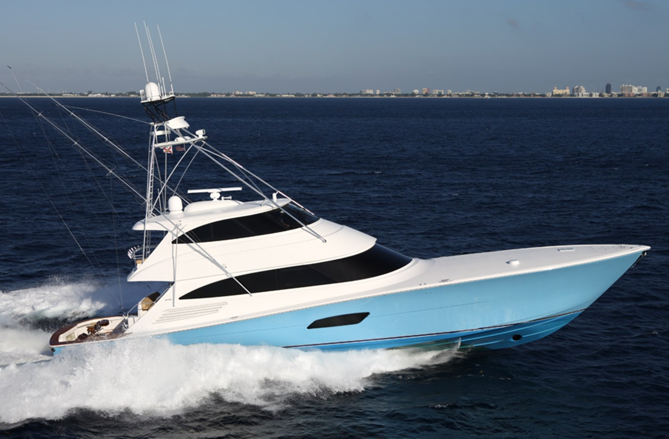 New Viking 92 Enclosed Bridge Yachts For Sale