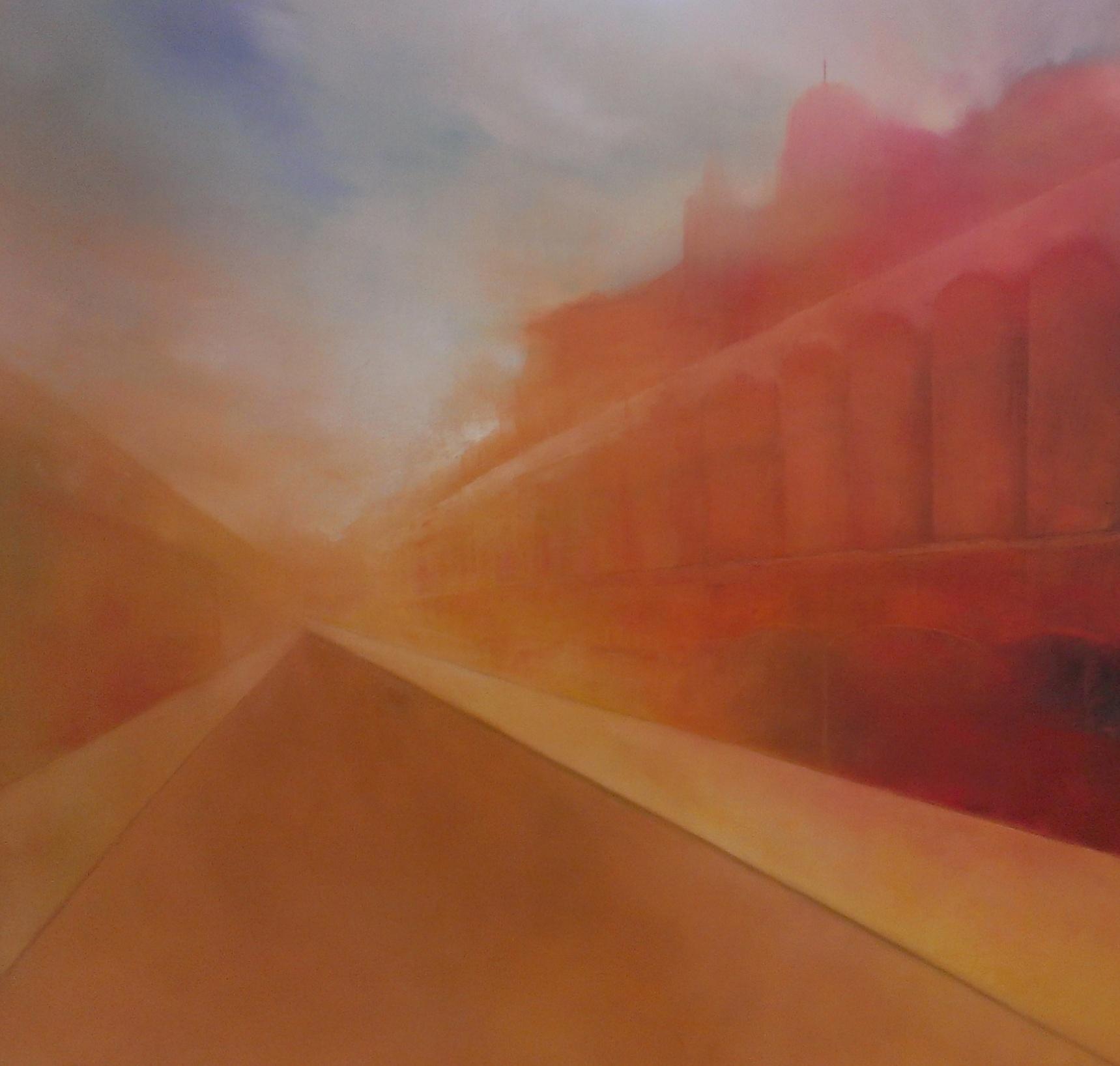 Passage de la cité, par l'artiste Nathalie Frenière | Gallea