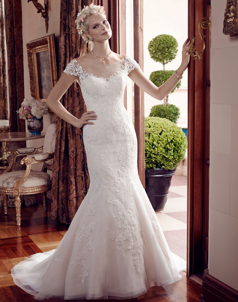 Style 2192 - Casablanca Bridal Spring 2015 - BridalPulse Wedding ...