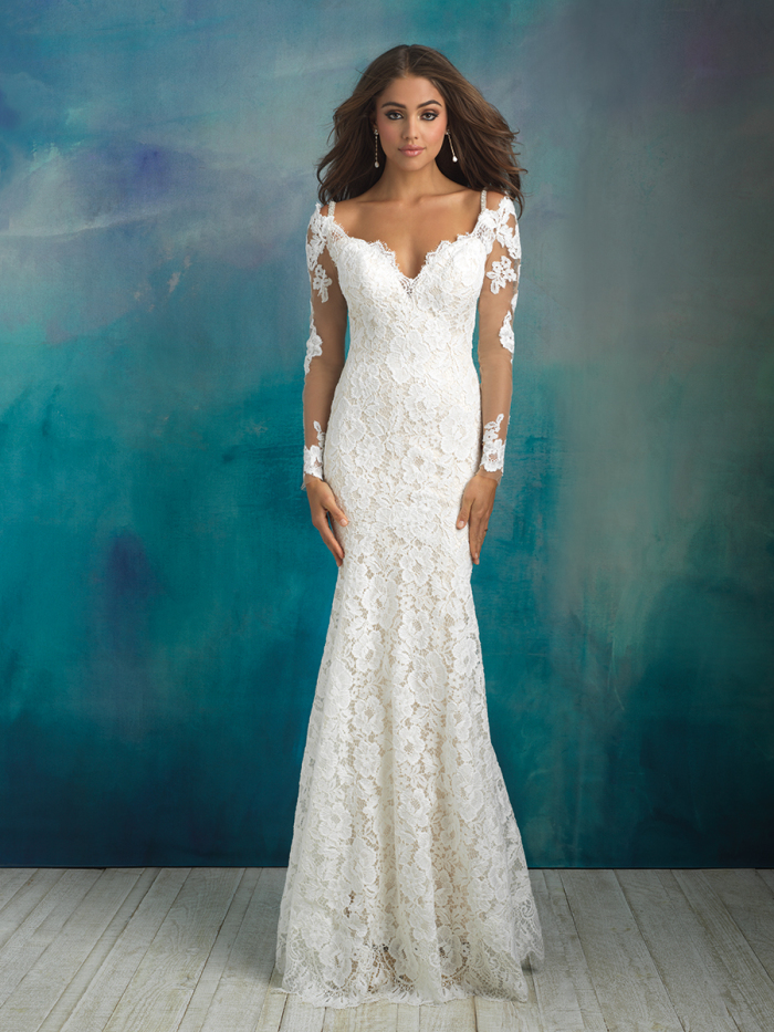 9519 - Allure Bridals Spring 2018 - BridalPulse Wedding Dress Gallery