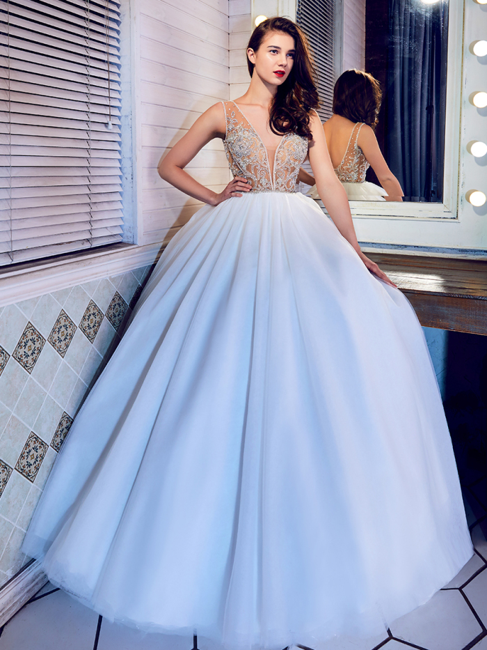 LA7285 - L\'Amour Fall 2017 - BridalPulse Wedding Dress Gallery