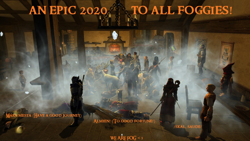 Epic 2020 to all Foggies
