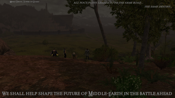 We shall help shape the future of Middle-Earth in the battle ahead