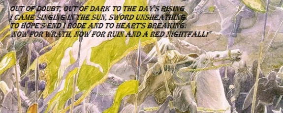 Eomer Quote_Illustration by Alan Lee