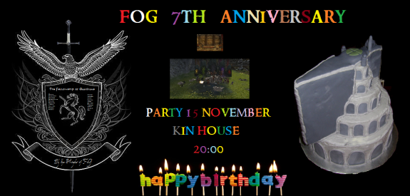 FOG 7th Anniversary