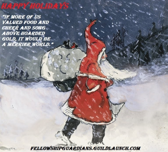Happy Holidays FOG :)