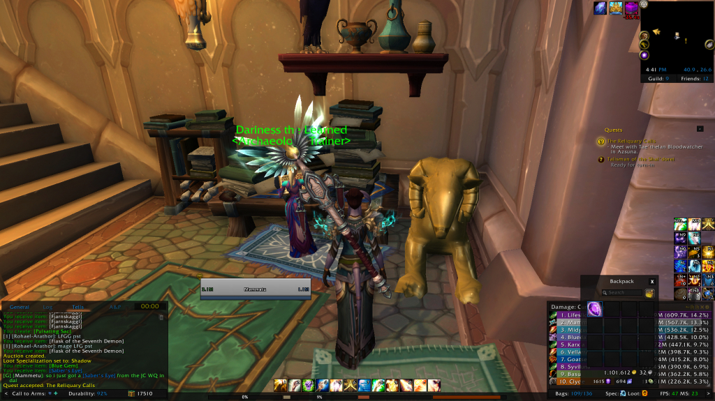 gallery detail library fables antonidas wow guild hosting