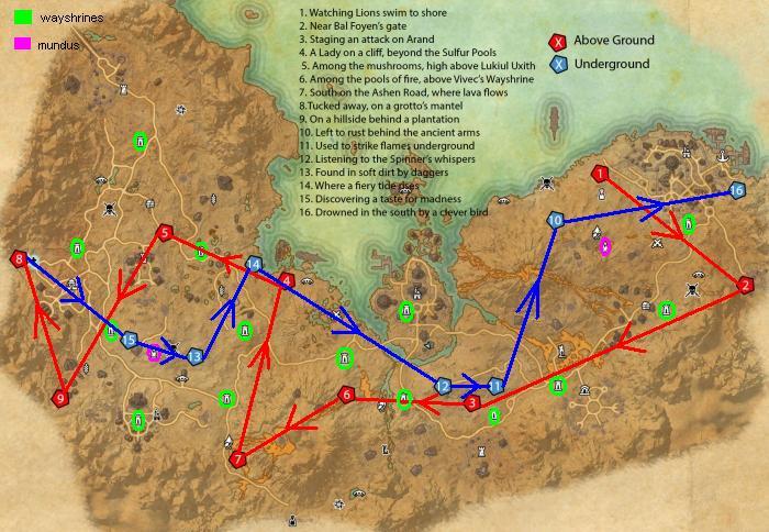 Stonefalls Skyshard Map Obsidian Guard in Elder Scrolls Online on North America Stonefalls Skyshard Map