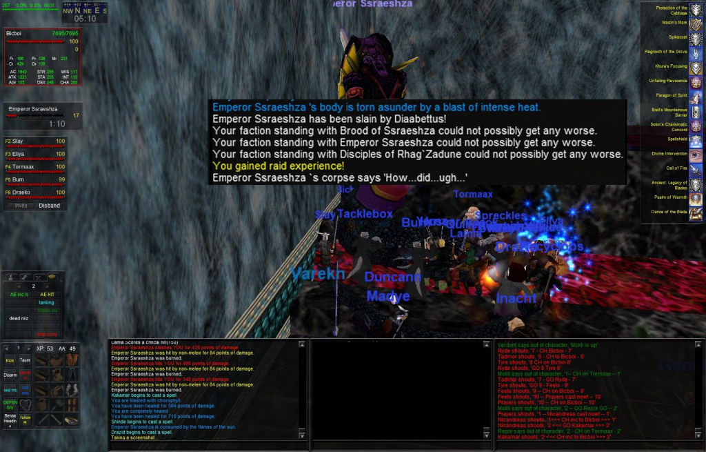 The Azure Guard - Custom Server - Everquest - Guild Hosting