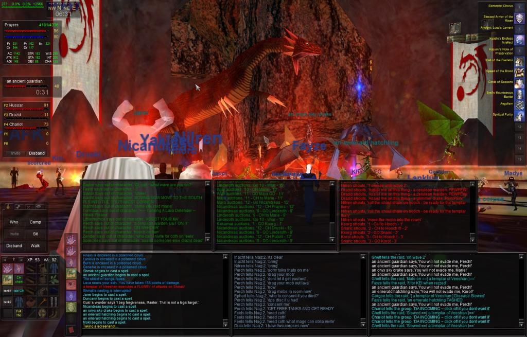The Azure Guard - Custom Server - Everquest - Guild Hosting