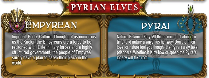image result for pyrian elves race in ashes of creation game