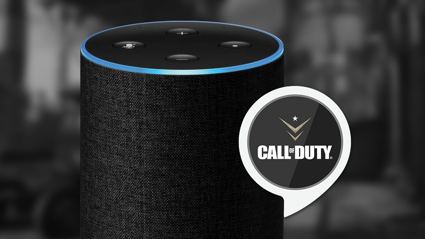 image result for Alexa Amazon skill for Call of Duty game