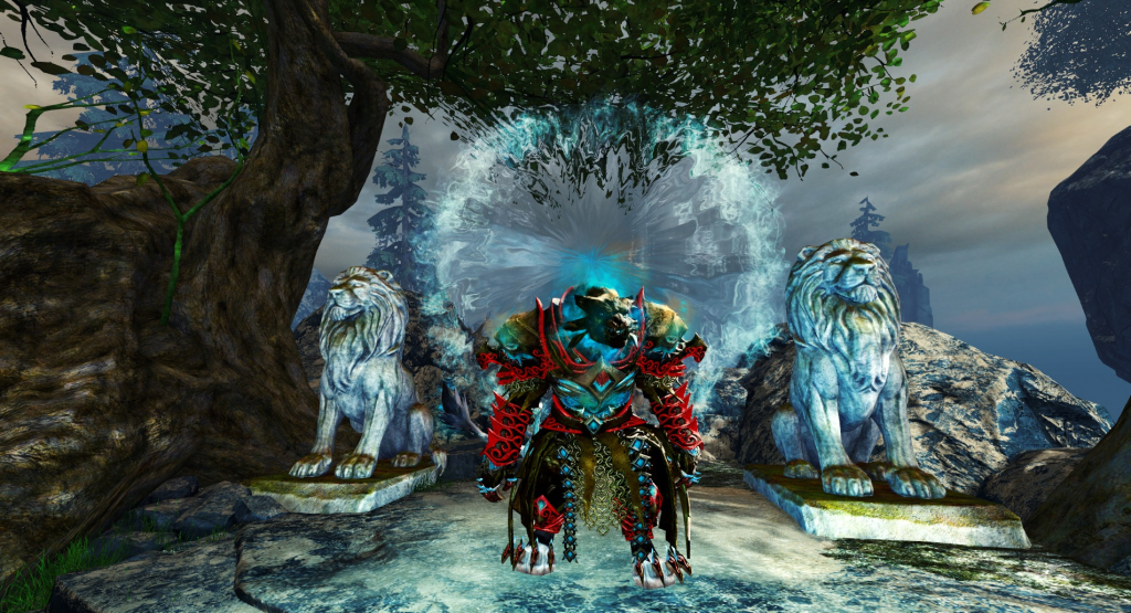 Image result for Proxydus guarding the stargate in Guild Wars 2