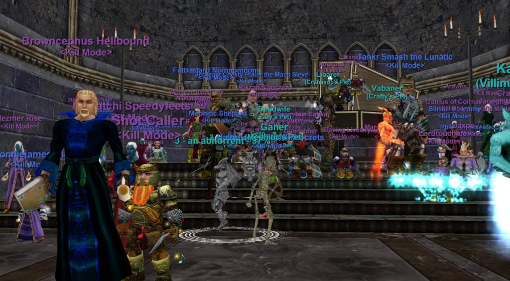 Kill Mode in Everquest on Custom Server