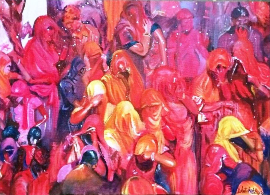"""""""Holi paintings 2021- To look for!"""""""
