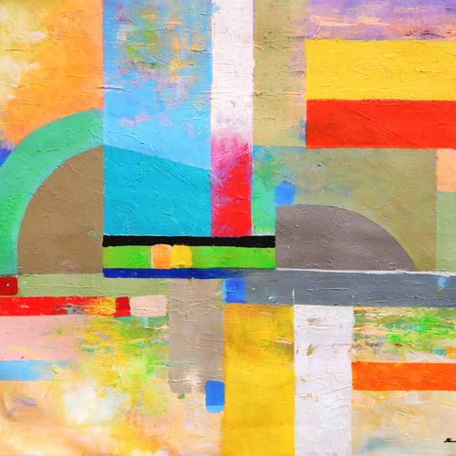 love through nature way  , 22 x 16 inch, sandeep rawal ,abstract paintings,paintings for dining room,canvas,acrylic color,22x16inch,GAL0251110066