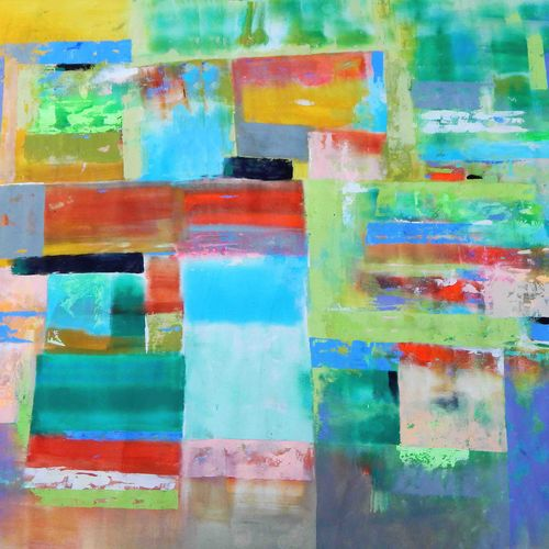 nature's way, 58 x 48 inch, sandeep rawal ,paintings for dining room,square,abstract paintings,canvas,acrylic color,58x48inch,GAL0251110102