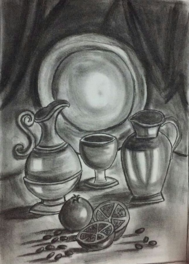 untitle, 10 x 12 inch, chindu sudheer,art deco drawings,paintings for dining room,paper,charcoal,10x12inch,GAL0442210135