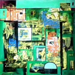 relax, 24 x 24 inch, naheem rustum,paintings,abstract paintings,paintings for office,canvas,acrylic color,24x24inch,GAL034410225