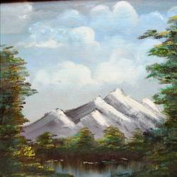 affordable  : the hills, 15 x 20 inch, mamta singh,paintings,landscape paintings,paintings for living room,canvas,oil,15x20inch,GAL0424210284