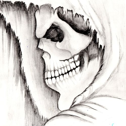 skull gambler, 11 x 8 inch, dhruv patel,drawings,conceptual drawings,paintings for office,paper,graphite pencil,11x8inch,GAL0452810296