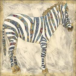 Zebra art print by Gallerist