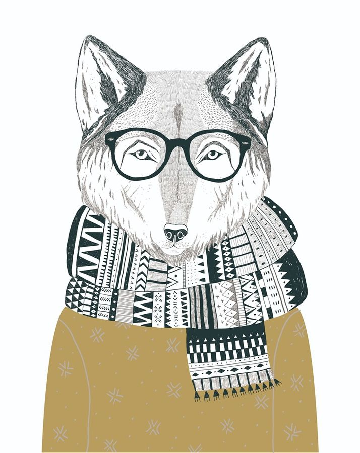 The Fox with specks