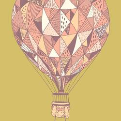Air Balloon art print by Gallerist