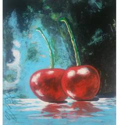 sweetness 2, 18 x 22 inch, yashpal gambhir,paintings,abstract paintings,paintings for dining room,paper,acrylic color,18x22inch,GAL0446710510