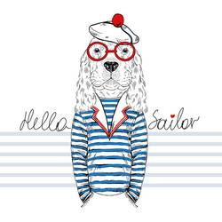 The Sailor 1 art print by Gallerist