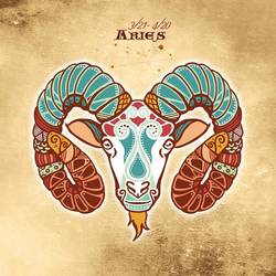 Aries art print by Gallerist