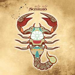 Scorpio art print by Gallerist
