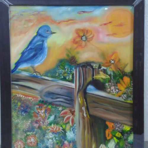 landscape, 18 x 24 inch, amit sharma,paintings,wildlife paintings,nature paintings,paintings for living room,paintings for bedroom,paintings for office,paintings for hotel,canvas board,acrylic color,oil,18x24inch,GAL0463410719Nature,environment,Beauty,scenery,greenery