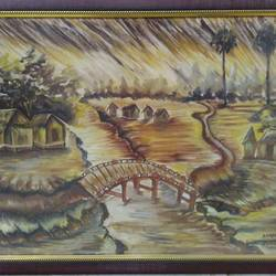 landscape, 24 x 18 inch, amit sharma,paintings,landscape paintings,nature paintings,paintings for living room,paintings for office,canvas board,acrylic color,oil,24x18inch,GAL0463410721Nature,environment,Beauty,scenery,greenery