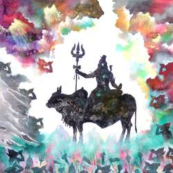 lord shiva vivah, 32 x 40 inch, sandeep rawal ,figurative paintings,modern art paintings,conceptual paintings,religious paintings,nature paintings,contemporary paintings,love paintings,paintings for dining room,paintings for living room,paintings for bedroom,paintings for office,paintings for hotel,paintings for dining room,paintings for living room,paintings for bedroom,paintings for office,paintings for hotel,lord shiva paintings,canvas,acrylic color,32x40inch,GAL0251110854Nature,environment,Beauty,scenery,greenery,lord shiv,shankar,shambhu,trishul,cow,nandi,naag,shiva,lordshiva,shankha