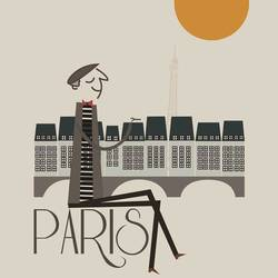 Paris art print by Gallerist