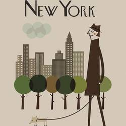 New York art print by Gallerist
