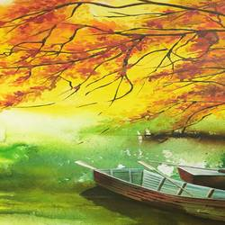 boats, 39 x 40 inch, parul narain,nature paintings,paintings for living room,paintings for bedroom,paintings for office,paintings for hotel,paintings for living room,paintings for bedroom,paintings for office,paintings for hotel,canvas,photo ink,39x40inch,GAL0474711022Nature,environment,Beauty,scenery,greenery,boat