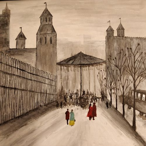 paris old street, 30 x 20 inch, sajal jain,paintings,cityscape paintings,nature paintings,abstract expressionist paintings,expressionist paintings,contemporary paintings,paintings for dining room,paintings for living room,paintings for bedroom,paintings for office,paintings for bathroom,paintings for kids room,paintings for hotel,paintings for kitchen,canvas,acrylic color,30x20inch,GAL0476311040Nature,environment,Beauty,scenery,greenery