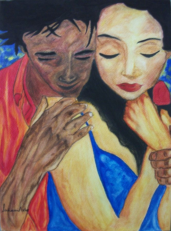 blind love, 9 x 12 inch, suhani goel,figurative paintings,paintings for bedroom,love paintings,renaissance watercolor paper,watercolor,9x12inch,GAL04621106heart,family,caring,happiness,forever,happy,trust,passion,romance,sweet,kiss,love,hugs,warm,fun,kisses,joy,friendship,marriage,chocolate,husband,wife,forever,caring,couple,sweetheart