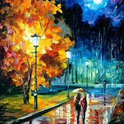 Night Walk art print by Gallerist